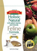Bench and Field Holistic Natural Formula Dry Cat Food