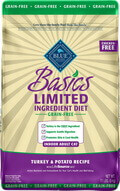 Blue Buffalo Basics Limited Ingredient Grain-Free Turkey Potato Adult Dry Cat Food