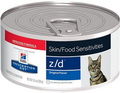 Hill's Z/D Canned Cat Food for Sensitive Stomach