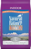 Natural Balance Indoor Ultra Chicken Salmon Formula Dry Cat Food