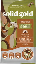 Solid Gold Grain Free Sensitive Stomach Adult Dry Cat Food