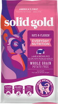 Solid Gold Lamb Brown Rice Pearled Barley Whole Grain Dry Cat Food