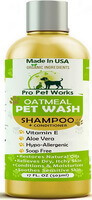 Pro Pet Works Oatmeal Pet Shampoo Plus Conditioner