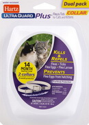 Hartz UltraGuard Plus Flea and Tick Collar Cats Collar
