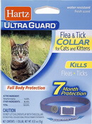 Hartz UltraGuard Plus Flea and Tick Collar Cats 1 count Purple