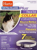 Hartz UltraGuard Plus Flea and Tick Collar Cats and Kitten