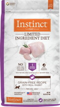 Instinct Limited Ingredient Diet Grain Free Recipe Rabbit Cat Food
